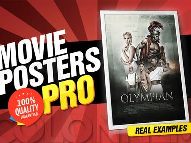 I Will Help You Design Your Movie Poster