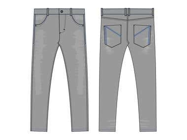 streetwear pant design