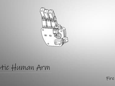 robotic arm by 3d printing