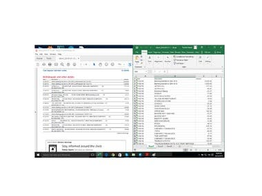 PDF to Excel Conversion for QBO
