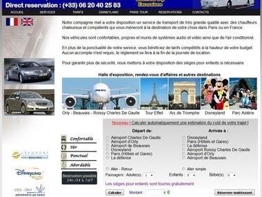 Rent Car Web Application