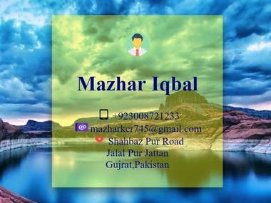 Contact details of Company's Owner