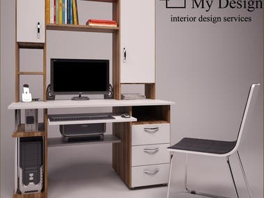 FURNITURE DESIGN & 3D VISUALIZATION