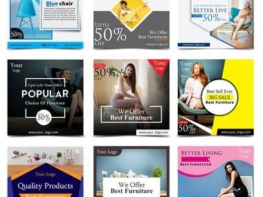Social Media Ads Portfolio