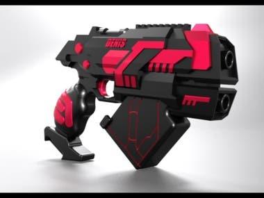 Laser toy gun