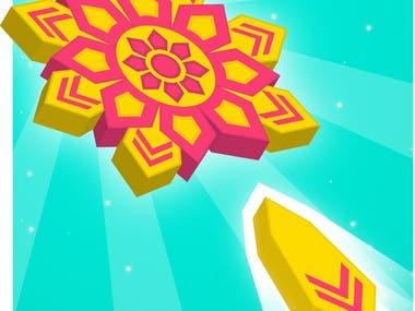 Mobile Game : Mandala Hit - Art Game