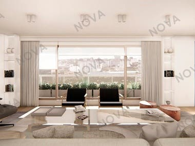 Render images for a project in Buenos Aires