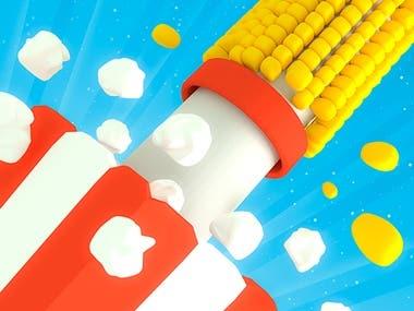 Mobile Game : Pipe Corn - PopCorn Slice Ring