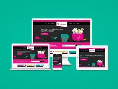 Wordpress/WooCommerce E-commerce Website