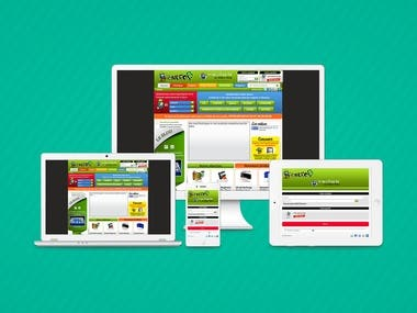 Joomla / Shopping Cart Website.