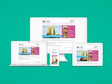 Hotel Reservation Website SEO Friendly with Joomla Platform.