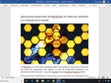 What is the Blockchain - Spanish translation