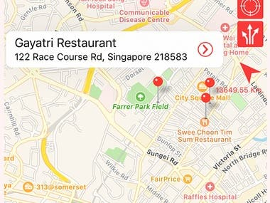 Restaurant Finder Full IOS & Android Application