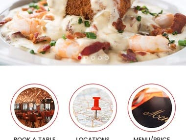 Restaurant Mobile Application IOS & Android