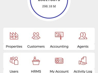 Real Estate Management System App IOS & Android