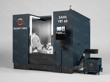 """Sahil Machines"" CNC machines' models"