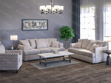 Living Room Design showing Sofa for Durabella