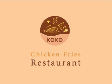 Fried Chicken restaurant Logo design