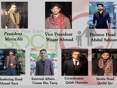 Member Sheet for SOCH organization.
