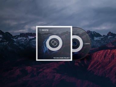 Music Release CD Design with Logo Design