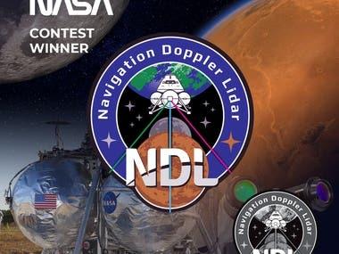 NASA Navigation Doppler Lidar (NDL) Logo