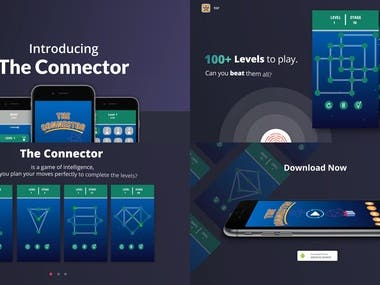 The Connector Game app (Mobile Ad)