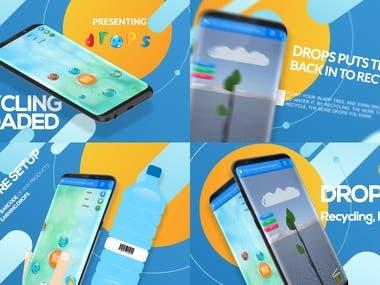 Drop App. (Mobile Ad.)