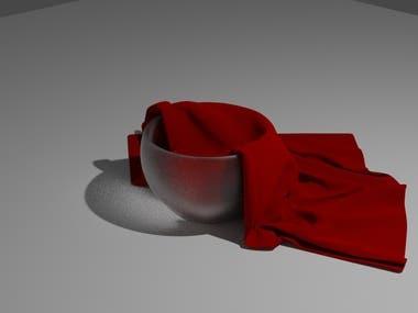 3d cup cloth