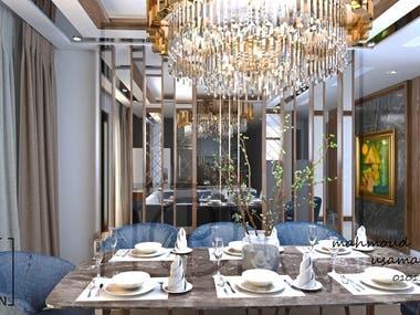 luxurious modern reception