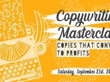 Copy Writing Master Class