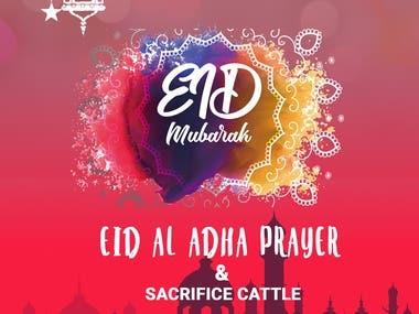 EID UL ADHA POSTER
