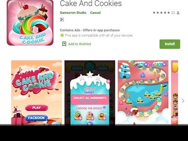 Cake And Cookies Game