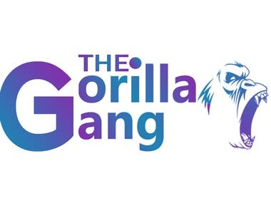 Gorilla gang Branding