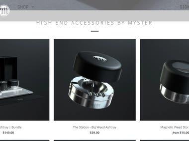 Getmyster - Shopify Website