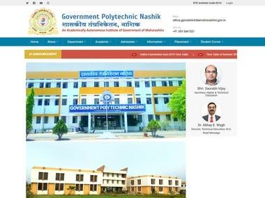 Website Design for Government Polytechnic