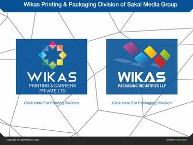Website for Printing Company