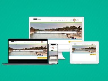 Online Reservation Service Website.