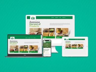 Joomla E commerce Website