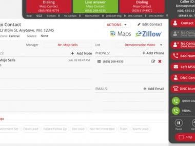Real Estate cold calling via Mojo Dialer