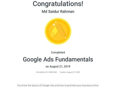 Google All Ads Certificate