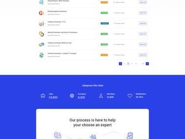 Job Portal Website Design