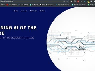 IzzyAI Landing Page