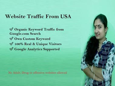 Website Traffic From USA