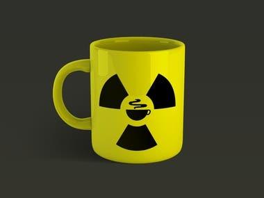 Radiation Symbol Mug Design