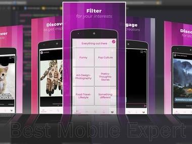 Image Capture & Edit iOS Mobile App