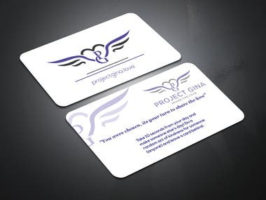 Corpurate Business card made in Photoshop