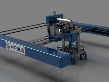 Airbus Pick/Place Robot