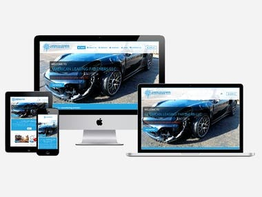 build a website for vehicle remarketing services