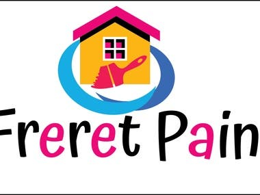 Logo design for painting business