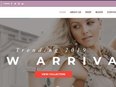 Multivender Website